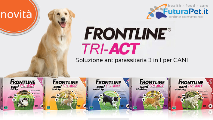 frontline tri act futura pet cibo per cani e gatti. Black Bedroom Furniture Sets. Home Design Ideas