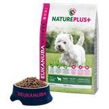 Immagine di Eukanuba Nature Plus Adult Small con Agnello